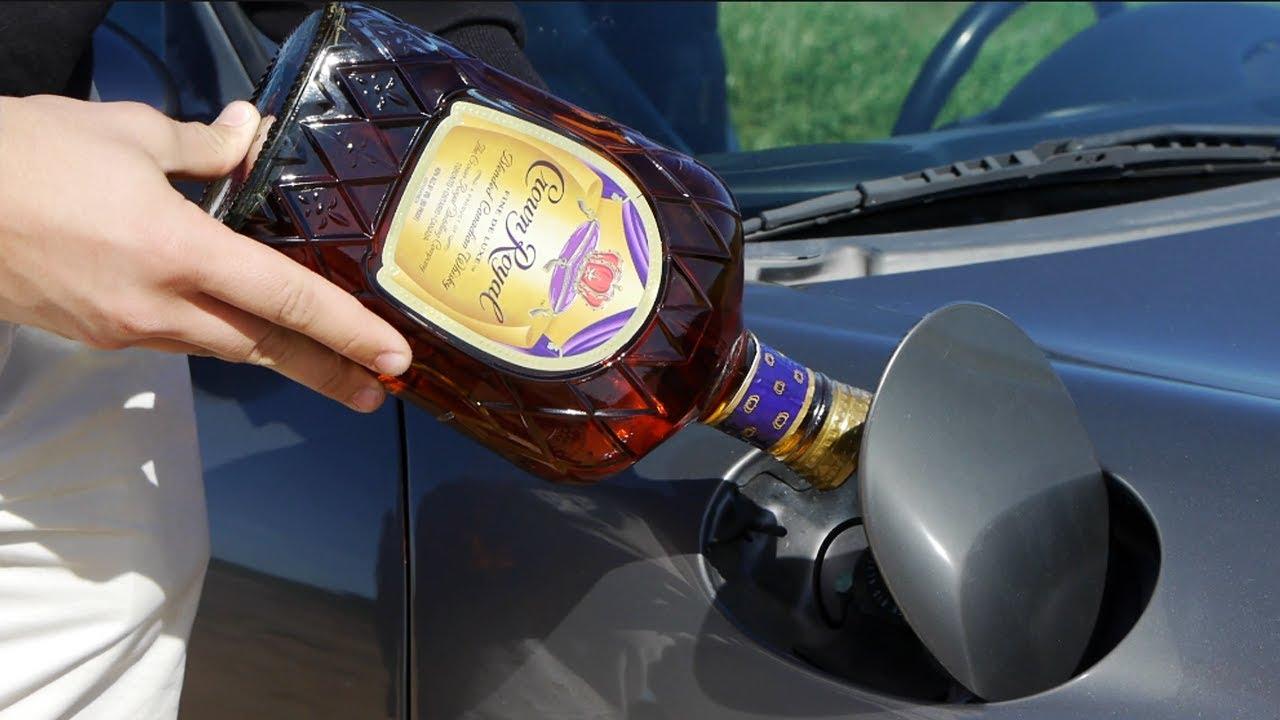 Что будет, если залить алкоголь в бензобак