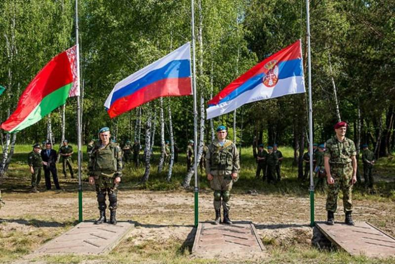 В Беларуси стартовало учение «Славянское братство»