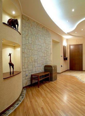 Варианты отделки и дизайна потолка
