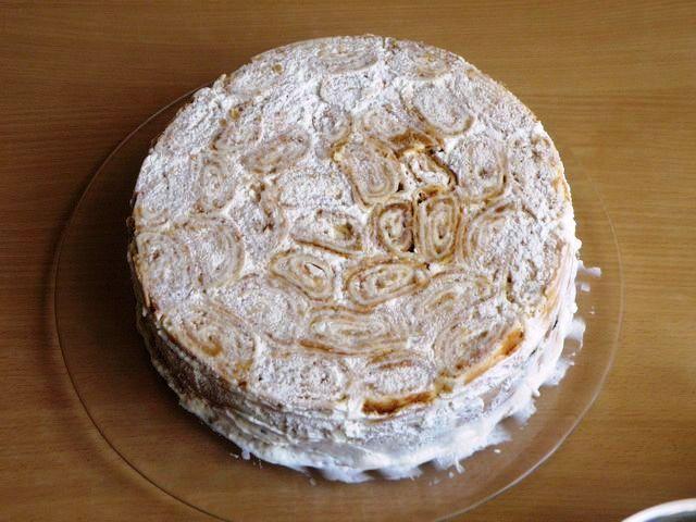Торт пенек рецепт пошагово в домашних