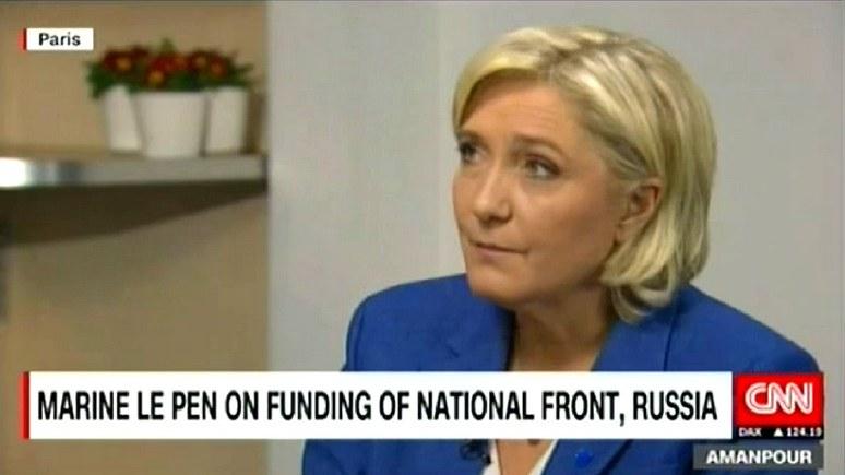 Марин Ле Пен: антироссийские санкции — совершенная глупость