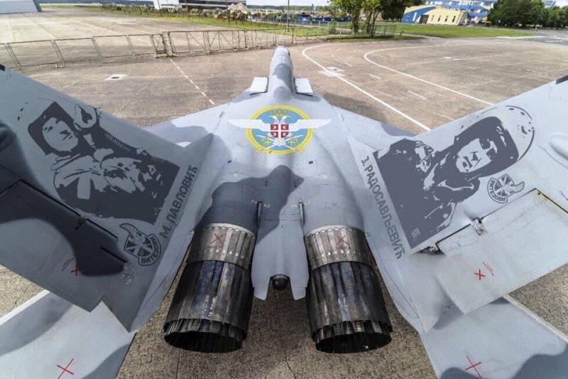 В Сербию будут поставлены и МиГи и транспортные самолеты