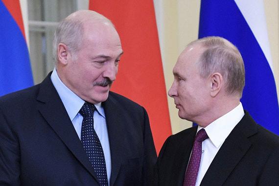 """""""Вроде воевали против Германии вместе"""":  Лукашенко потребовал от Путина единых с Россией цен на газ"""