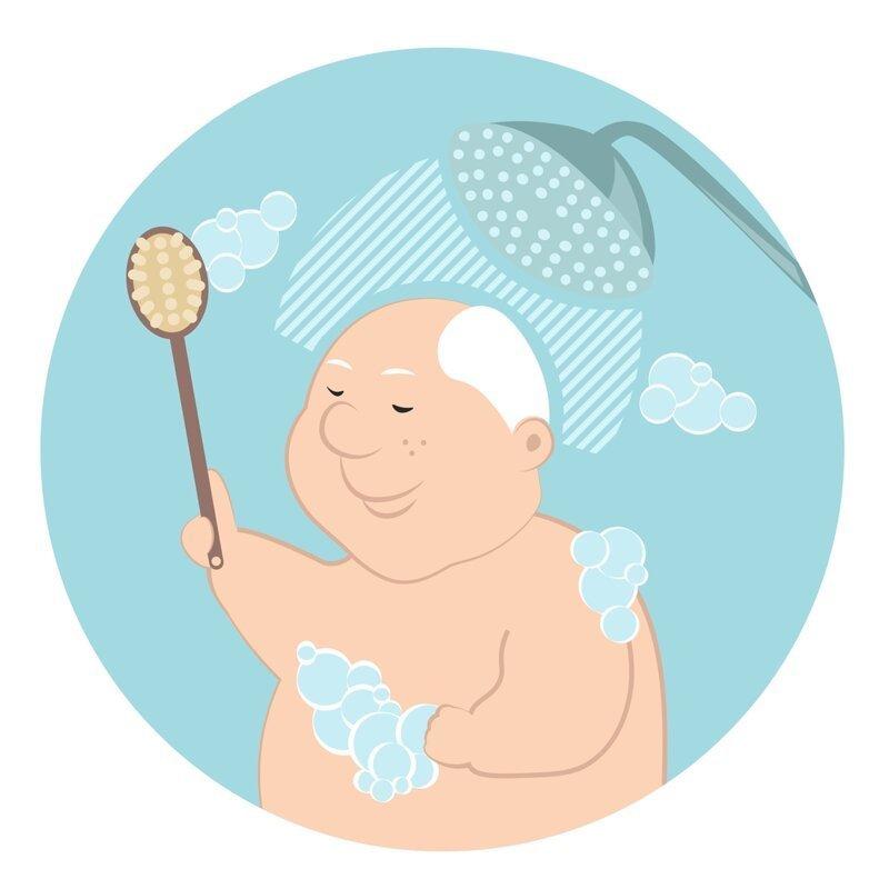 Аромат старости, или Почему старые люди плохо пахнут? гигиена, душ, запах, ноненалы, почемучка, причина, старик, уход
