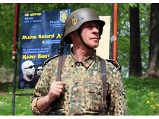 Львов широко празднует юбилей нацистской дивизии СС «Галичина»