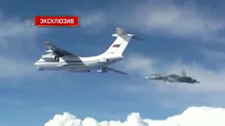 ПАК ФА Т-50 заправляется в воздухе: эксклюзивные кадры