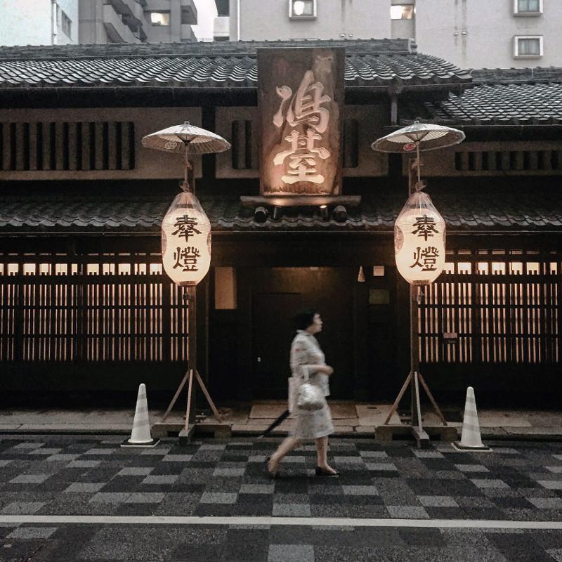 Галерея Симадаи на Оике-стрит архитектура, дома, здания, киото, маленькие здания, местный колорит, фото, япония
