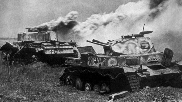 Как лучшая танковая дивизия РККА вступила в неравный бой с немцами