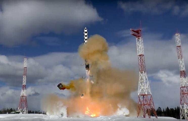 """ГРЦ """"Макеева"""": США не смогут создать систему противодействия """"Сармату"""" в ближайшие 40 лет."""