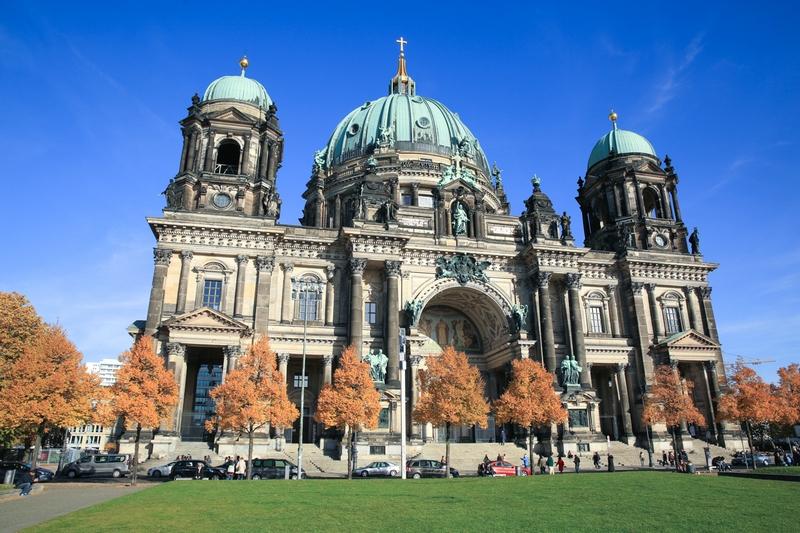 Город Берлин в фотографиях