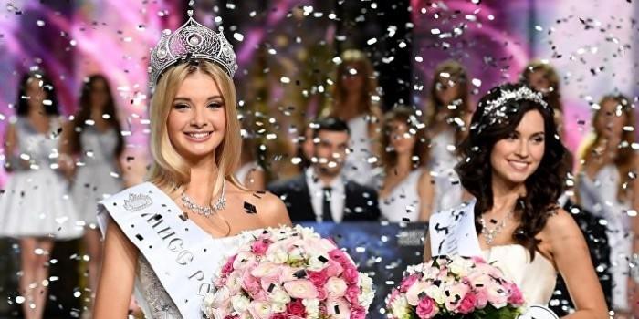 """""""Мисс Россия-2017"""" стала Полина Попова из Екатеринбурга"""