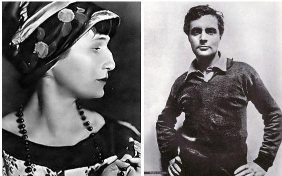 Анна Ахматова и Амадео Модильяни