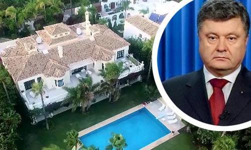 Порошенко отправил в Испанию два самолета денег