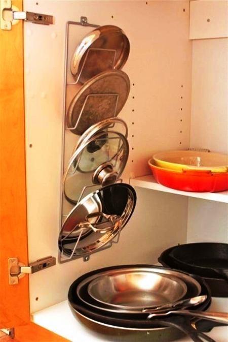 Нет места для ложек? А вот 10 дополнительных мест хранения на кухне