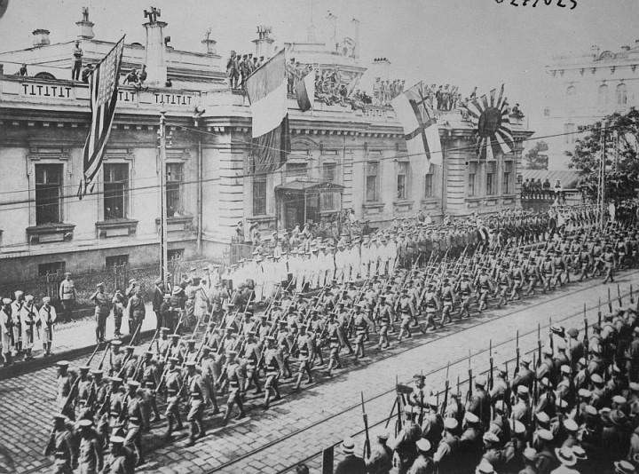Интервенция и оккупация России западными странами в период Гражданской войны