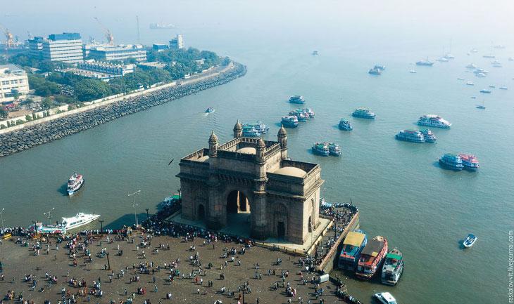 Мумбаи с высоты
