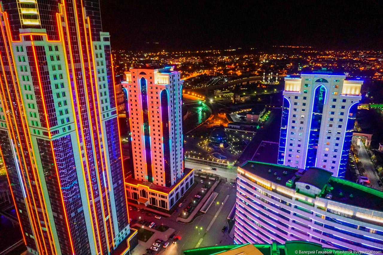 Грозный: Город небоскрёбов и мечетей