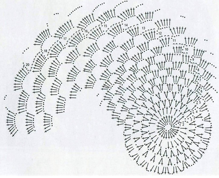 Вязаные коврики крючком: интересные модели, схемы и описание... Самая огромная подборка и лучшие советы! (Часть 1)