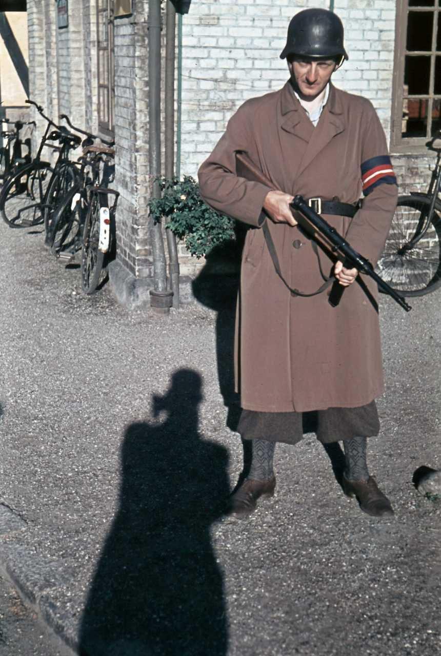 Крутое Датское Сопротивление. ( 50 цветных фото )