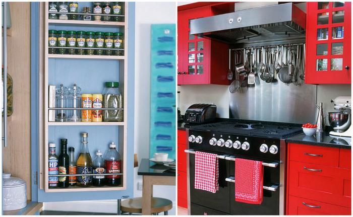 Практичные идеи, которые сделают удобной даже крошечную кухню