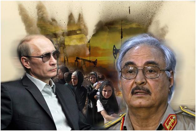 Хафтар перестал слушаться Путина