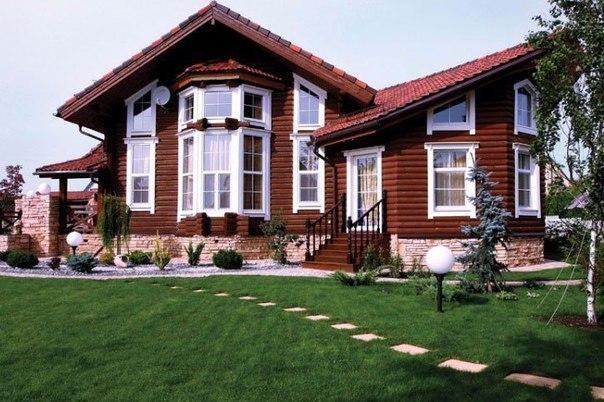 Очень красивый дом