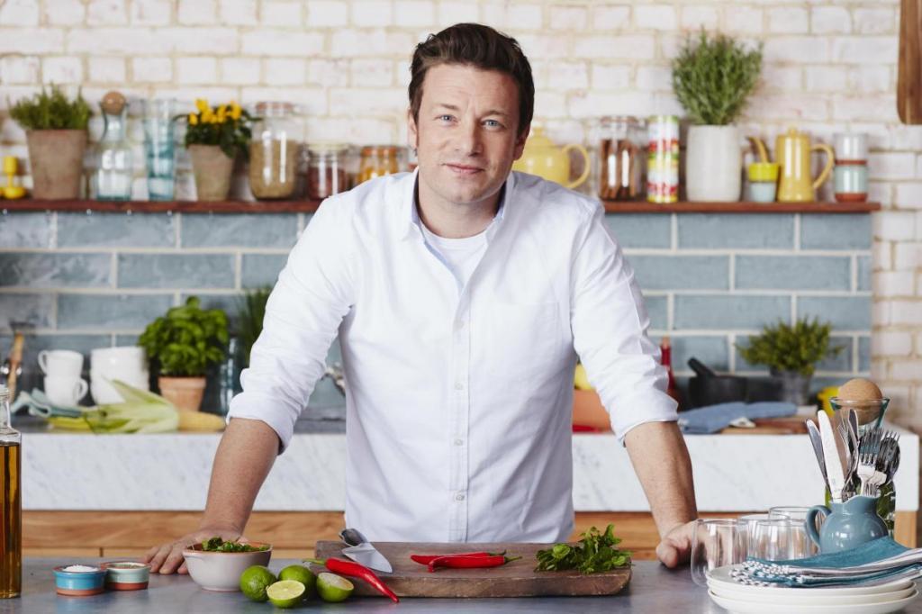 Салаты от Джейми Оливера: рецепты приготовления