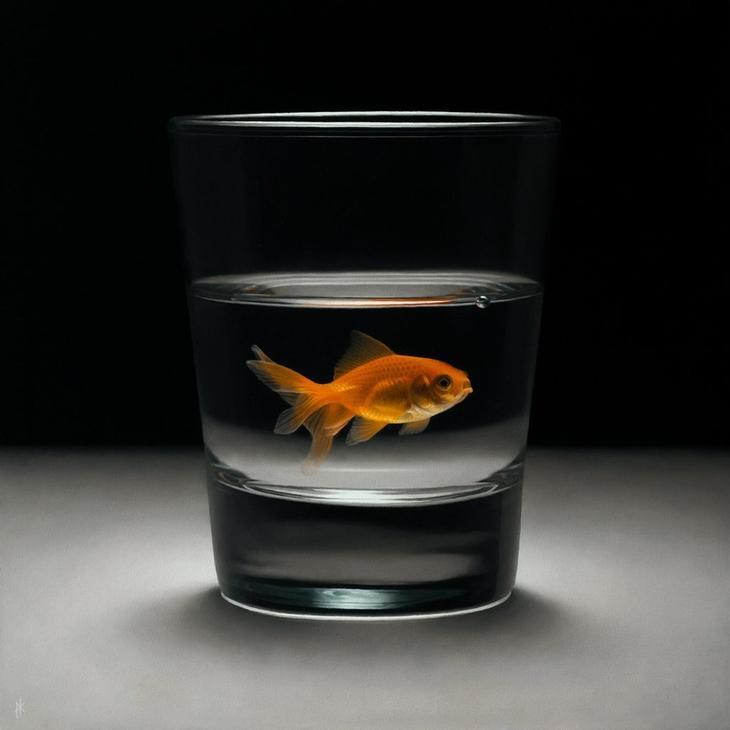 Протрясающий гиперреализм — 12 шокирующе реалистичных картин Патрика Крамера