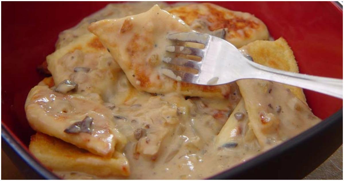 Картофельные швильпикай. Очень простое блюдо, но вызывает огромный интерес!