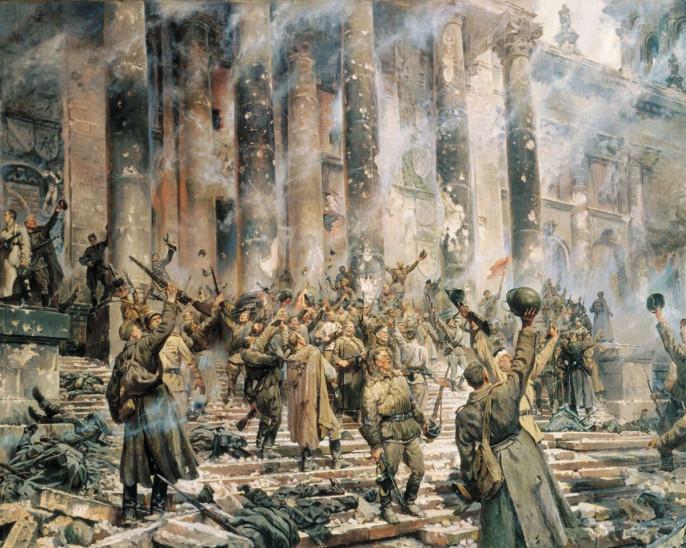 Россия должна вновь спасти весь мир от нацизма!