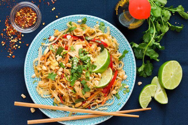 Рисовая лапшаы по тайски