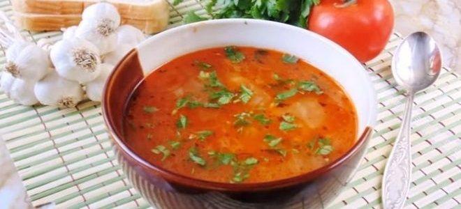 суп харчо с перловкой рецепт