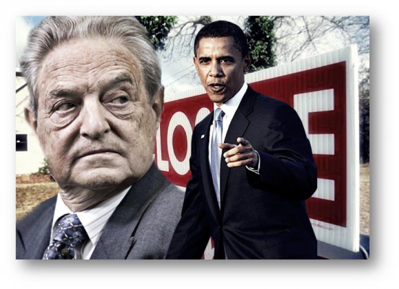 В США активисты обвинили Обаму и Сороса в организации переворота на Украине
