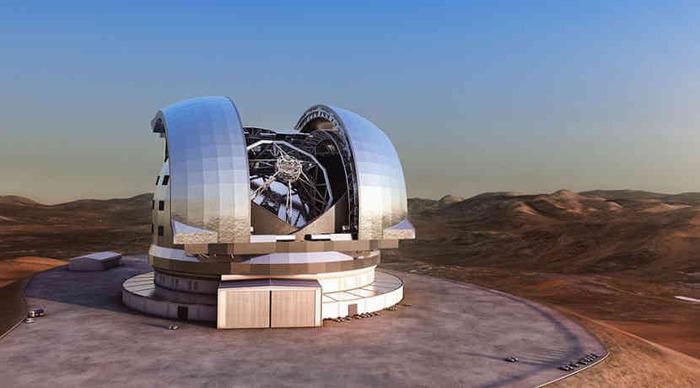 Гигантские телескопы покажут горы на экзопланетах