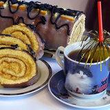 Бисквитный рулет с терпким чаем или все дело в мандарине
