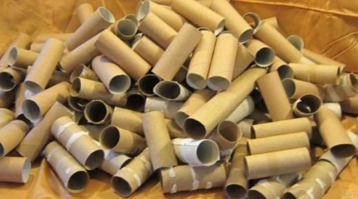 Прекратите выбрасывать втулки от туалетной бумаги! Вот 23 блестящих способа их повторного применения