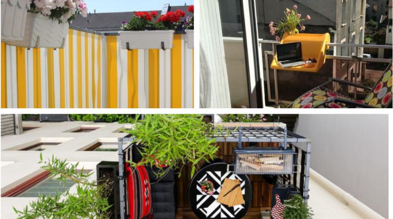 23 отличных совета, если у вас крошечный балкон