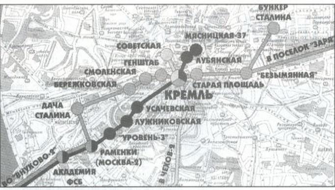 Существует ли в Москве секре…