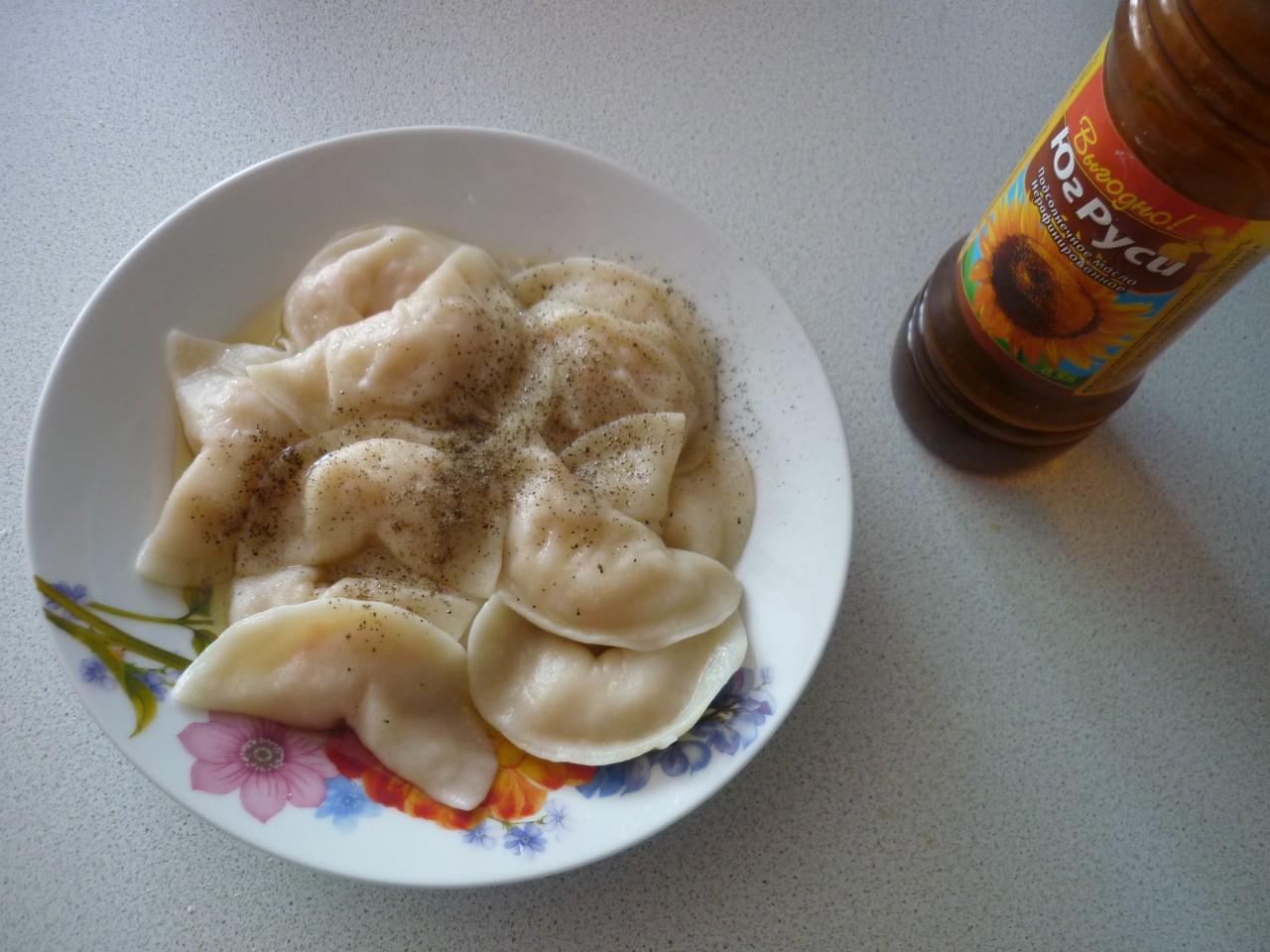 Рецепт вареники с капустой пошагово