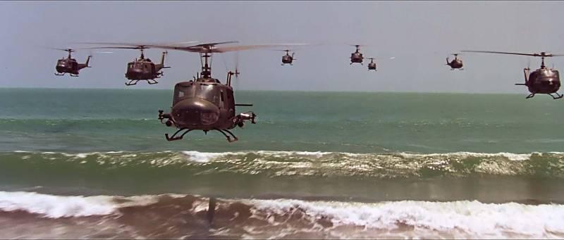 «Полёт валькирий». Вертолёты…