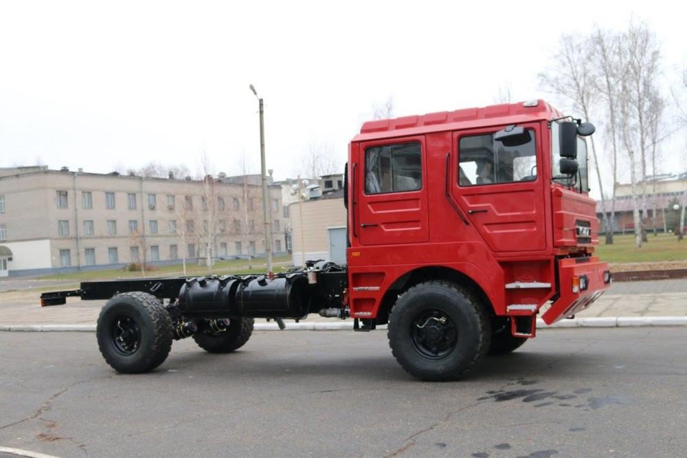 КрАЗ представил грузовик, очень похожий на MAN