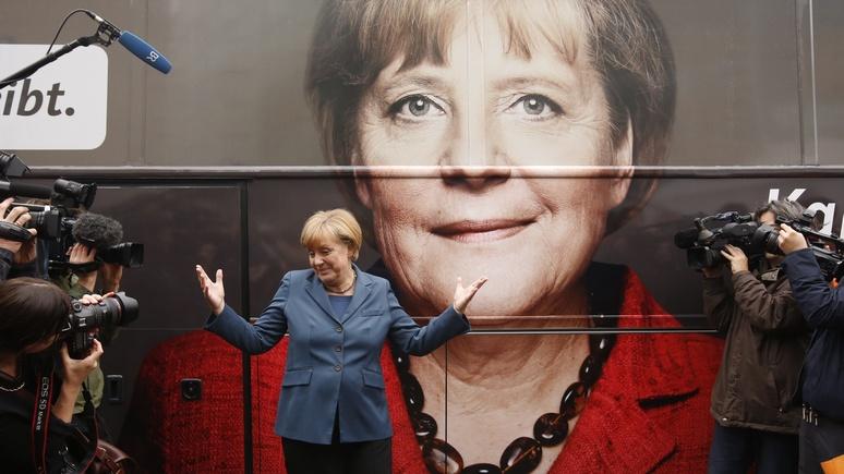 El Mundo: Меркель победит на выборах и «сдержит хаос» во всей Европе