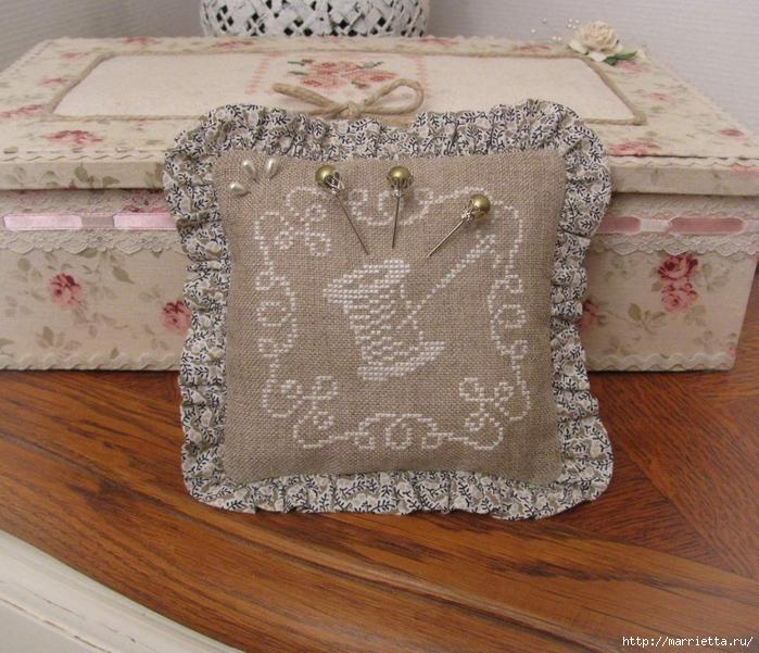 Миниатюрная винтажная вышивка крестом — идеи для вдохновения и схемы