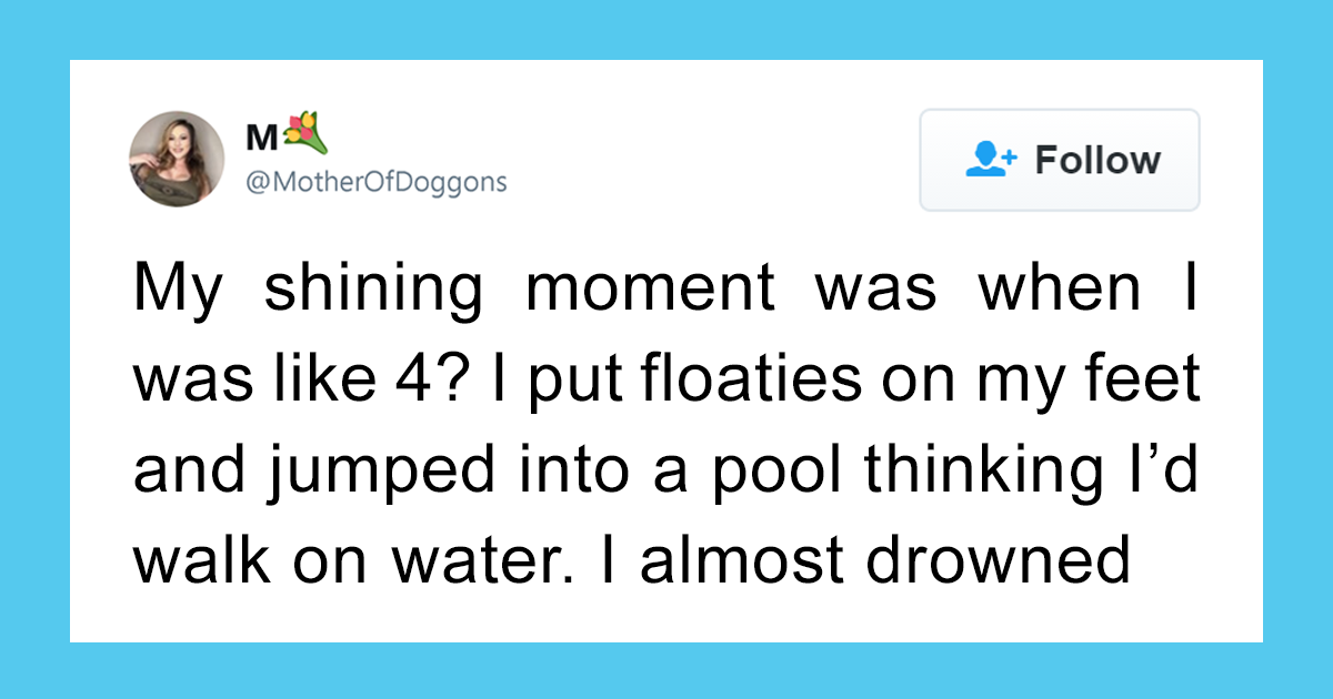 Twitter Users Are Sharing The Dumbest Things They Did As Kids And It's Hilariously Entertaining