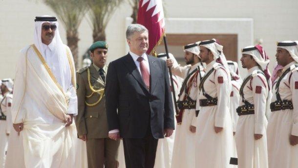 За сближением Украины и Катара стоят консультанты