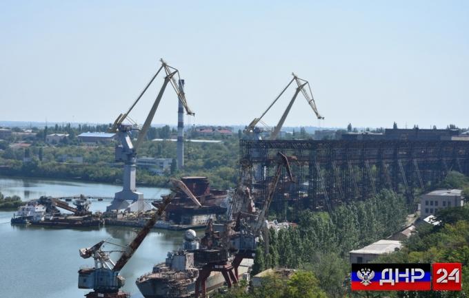 Украина выставила на торги Николаевский судостроительный завод