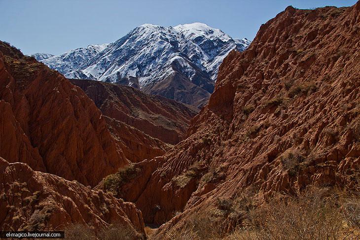 Большой Каньон в Киргизии