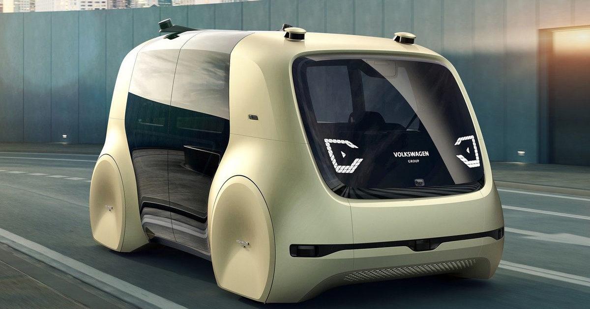 Volkswagen представил электрокар, который нельзя водить