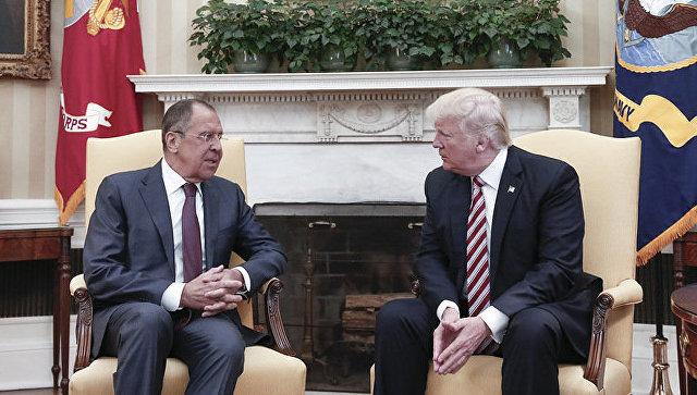 Белый дом опроверг информацию о передаче Трампом сверхсекретных данных Лаврову