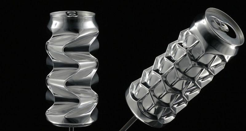 Баночку не выбрасывайте: американец делает из алюминиевых банок скульптуры за тысячи долларов